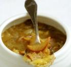 Svogūnų sriuba su alumi