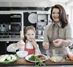 Ar dažnai gaminame kartu su savo vaikais?