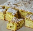Rabarbarų pyragas su kefyru