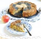 Vaikystės obuolių pyragas be kvietinių miltų