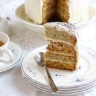 Morkų ir cukinijų tortas su maskarponės kremu