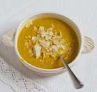 Morkų ir raudonųjų lęšių sriuba