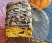 Pyragas su moliūgais ir šokoladu